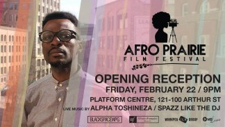 MUSIQUE & CINEMA: Afro Praire Film Festiavl Opening Reception w/ Alpha Toshineza & Spaz Like The DJ | APFF
