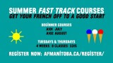 Summer Fast-track Courses